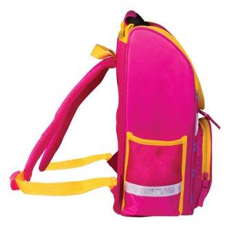 3239358da4c8 ... 36 Ранец жесткокаркасный ПИФАГОР, для начальной школы, девочка, Кошка,  15 литров, ...