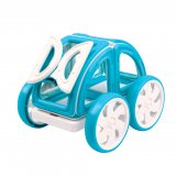 Магнитный конструктор MAGFORMERS My First Buggy 702007, синий