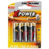 Элемент питания ANSMANN X-POWER (АА) 5015663 LR6 BL4